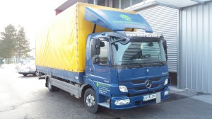 tovorno vozilo za varen transport